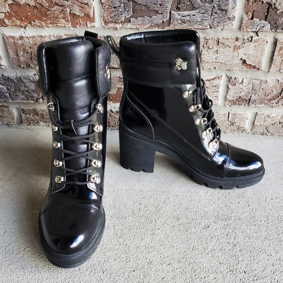 Marc Fisher Ltd Patent Leather Boots